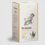 a box of dog food by mcadams