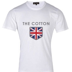 The Cotton London, British Mens Clothing, Union Jack T Shirt