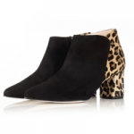 british made womens shoes category image showing sargasso and grey pair of black and leopard print ankle boots