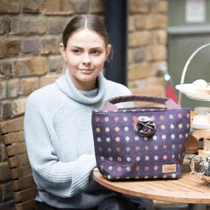 hettie, top handbag brands uk, multispot bag