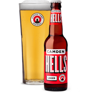camden hells lager, made in great britain