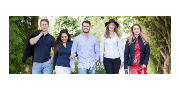 teddy edward clothing collection, made in britain