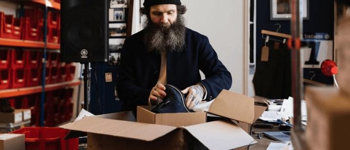 Hebtroco, Denim< footwear, Made in GReat Britain
