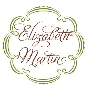 Elizabeth Martin, luxury women's clothing, logo