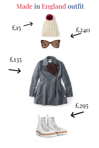 Made in England outfit, women's clothing made in england