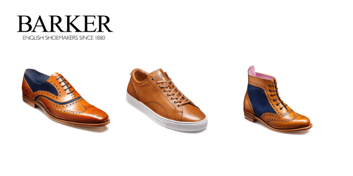 Barker Shoes, made in great britain