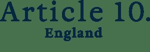 Article 10 England logo, British Clothing Manufacturers