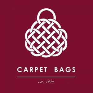 Carpet Bags, Carpet bags logo, carpet bags of england