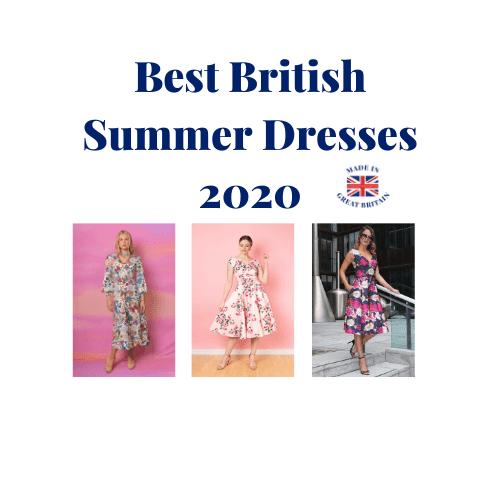 Best British Summer Dresses 2020, British made summer dresses