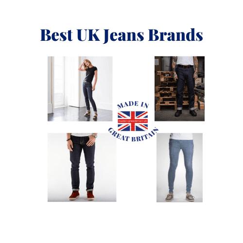 Best UK denim brands, blog post
