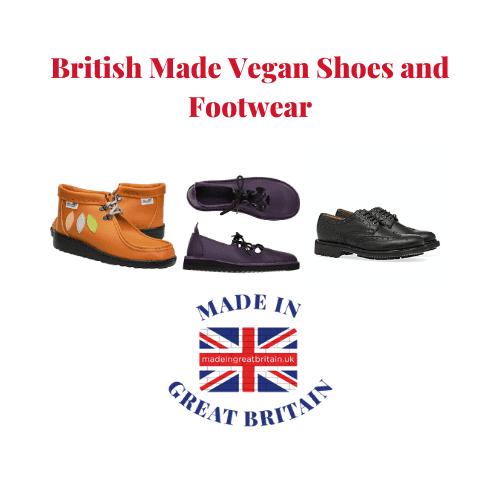 best british vegan shoes, made in britain