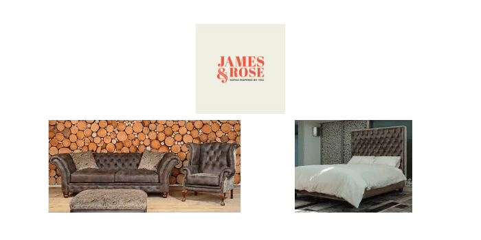 James and Rose Sofas, sofa and bed