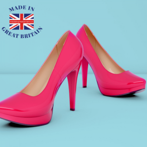 uk business directory, pink women's high heeled shoes, british clothing brands, uk made