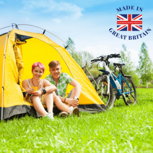 sports and outdoor, bike and tent, camping outdoors, british products, made in britain