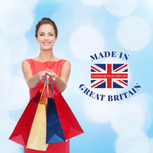 uk business directory, woman with shopping bags, uk made, british clothing brands