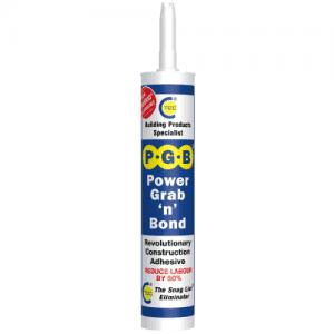 grab and bond, bonding adhesives, construction adhesives, snag list eliminator, snag list, made in great britain