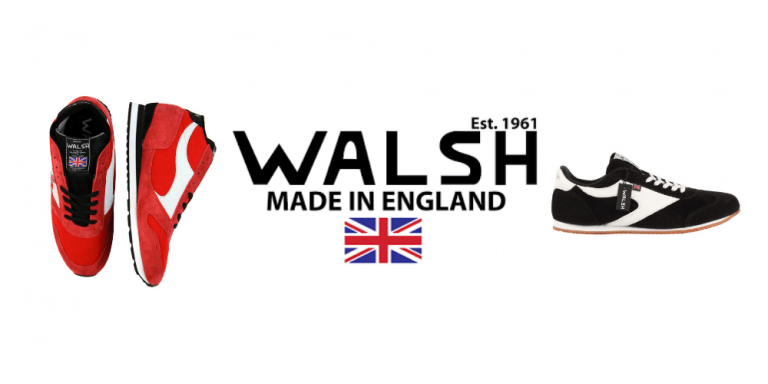 norman walsh, walsh trainers, british trainers, uk trainer brands, uk running shoes, british made trainers