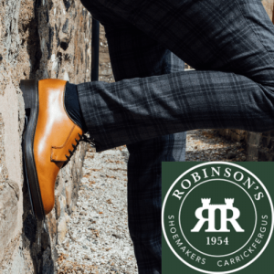 robinsons shoes, made in great britain, british made men's shoes