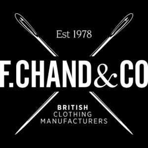 f.chand, british clothing manufacturers, uk clothing manufacturers, clothes manufacturers in the uk,