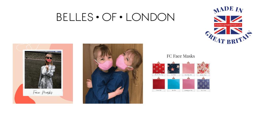 belles of london, face masks uk
