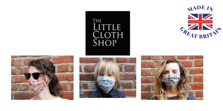 the little cloth shop, liberty print face masks,