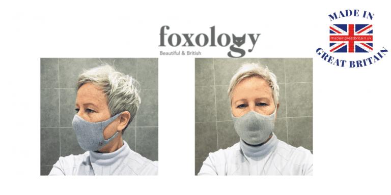 foxology, washable face masks