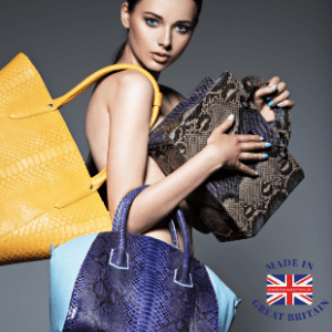best british handbag brands, made in britain blog, british blog, uk blog, woman holding handbags of different styles
