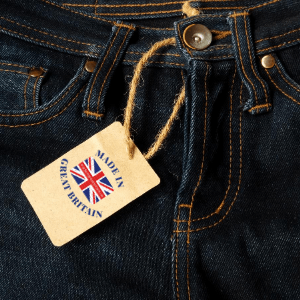 best british denim jeans brands, british made jeans, jeans with a made in great britain label tag on front