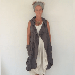 haylet trezise. raggedy clothes, unique wearable art, women's clothes made in uk
