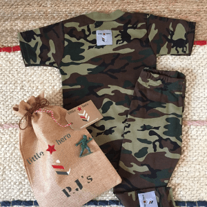 little heros london, army and miltary clothes for toddlers and kids, made in london, british made kids clothes