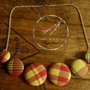 madra handmade necklace, black owned uk business