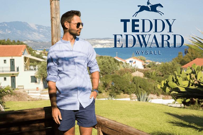 teddy edward on holiday, british made menswear brand