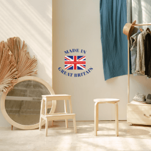 home furnishings and interiors, made in britain, mirror stools and coat stand, made in uk