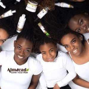 almocado, black hair products,black owned hair businesses, black owned british made, black british women with afro hair products