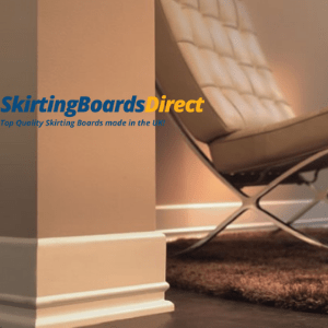 beige skirting boards in a living room by skirting boards direct, manufactured in the uk,