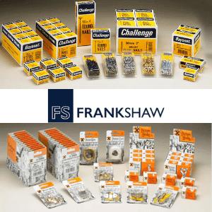 frank shaw, challenge diy hardware products, x brand diy hardware products, made in great britain, uk diy