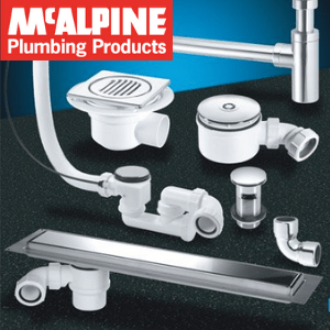 bathroom plumbing products made in britain by mcalpine, british made plumbing products