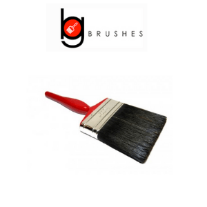 b g brushes bee gee brushes, red handled bristle uk made paint brush by bee gee brushes