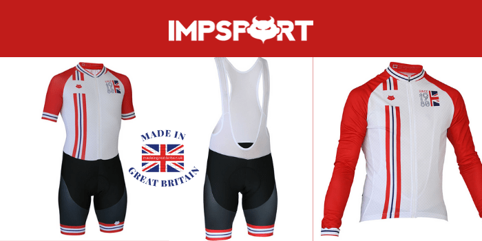 impsport cusom made cycling jerseys and shorts and bib shorts made in uk, cycling clothing made in uk