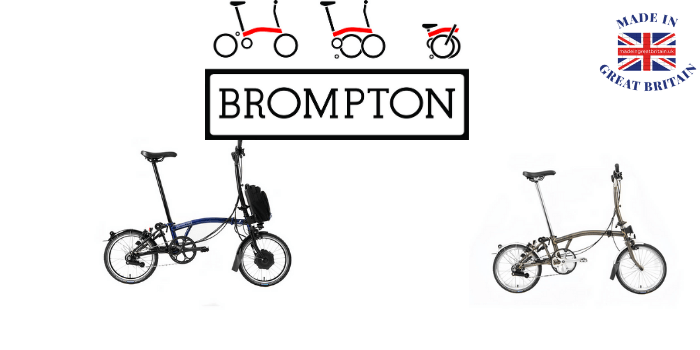 brompton cycles electric and pedal made in london