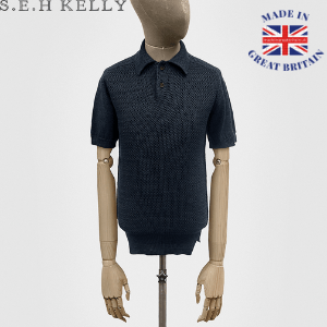 model mannequin dummy with men's navy polo shirt by seh kelly made in britain
