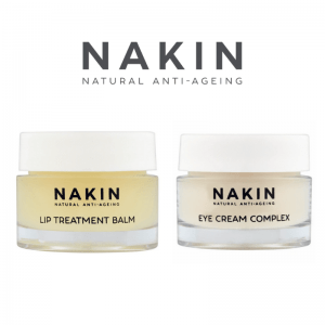 Nakin Skincare, natural anti ageing creams and lotions for lips and skin and eyes, made in uk