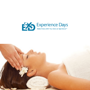 woman having a head massage on a uk spa experience day, british gifts for her, British valentines day gifts, Valentines day gifts for her