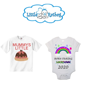 little ratbag, handmade baby vests t shirts and bibs