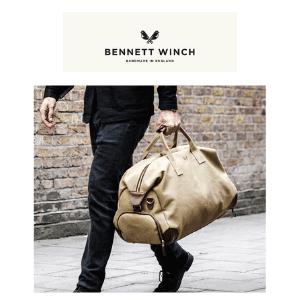 man carrying a luxury handmade in england weekender bag,