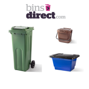 wheelie bins food storage and recycling bins by bins direct made in uk for the home