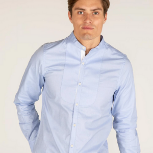 teddy edward rufford men's shirt reduced blue,