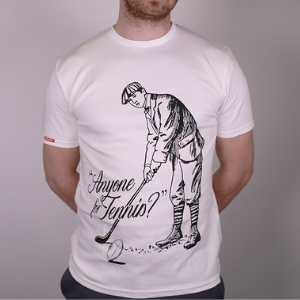 anyone for tennis novelty t shirt made in britain by snide