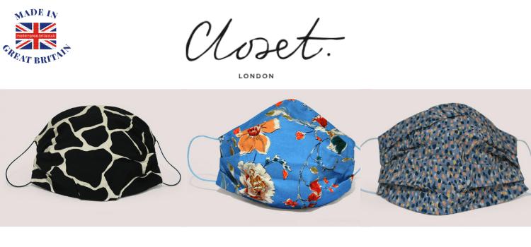 closet london face masks