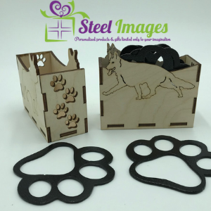 steel images met products for the home alsation dog paw coasters made in uk
